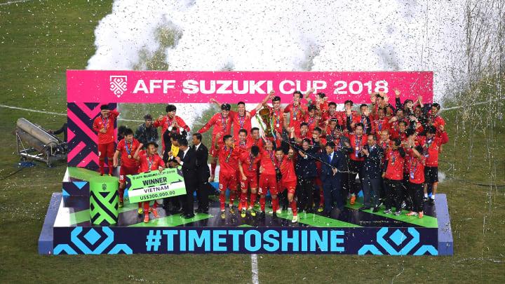 Vietnam merupakan juara bertahan Piala AFF