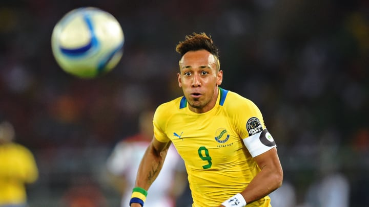 Pierre-Emerick Aubameyang has been fined for his social media post while on international duty