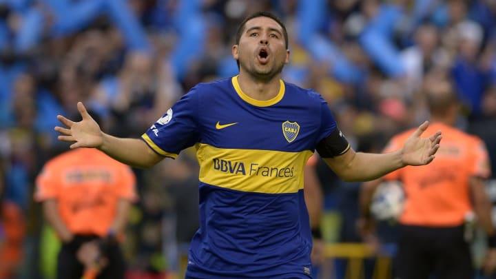Riquelme Boca Juniors Galo Libertadores