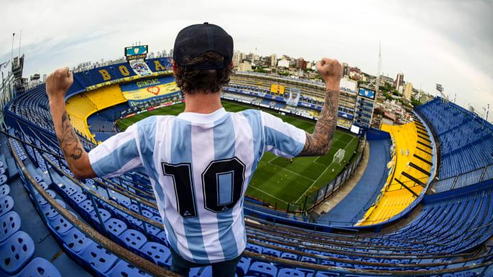 FBL-ARGENTINA-BOCA-NEWELLS-MARADONA - Los fanáticos tendrán la posibilidad de volver a los estadios.