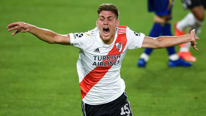Federico Girotti representa el futuro de River Plate