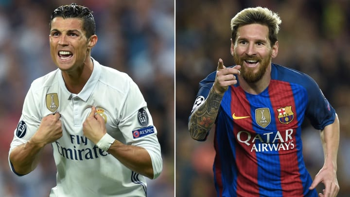 Unsurprisingly, Cristiano Ronaldo and Lionel Messi feature prominently