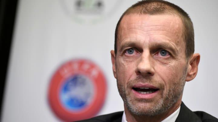 Alexander Ceferin tend la main aux clubs anglais après leur retrait de la Super League.