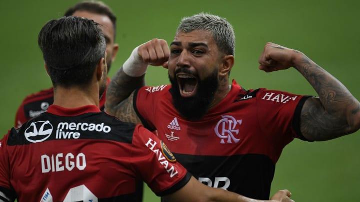 Gabigol decidiu mais uma vez para o Flamengo