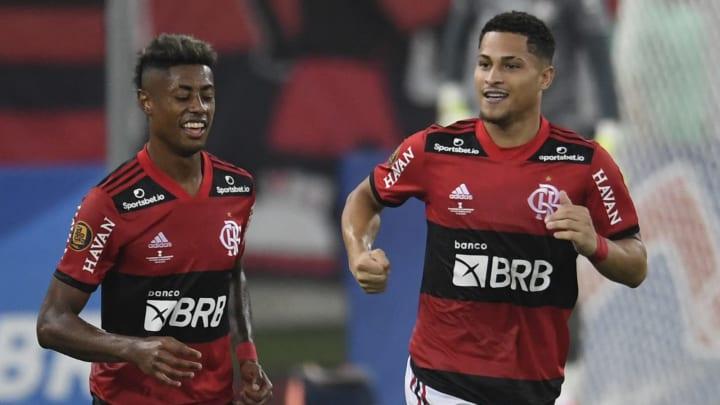João Gomes mais uma vez é um dos grandes destaques do Flamengo.