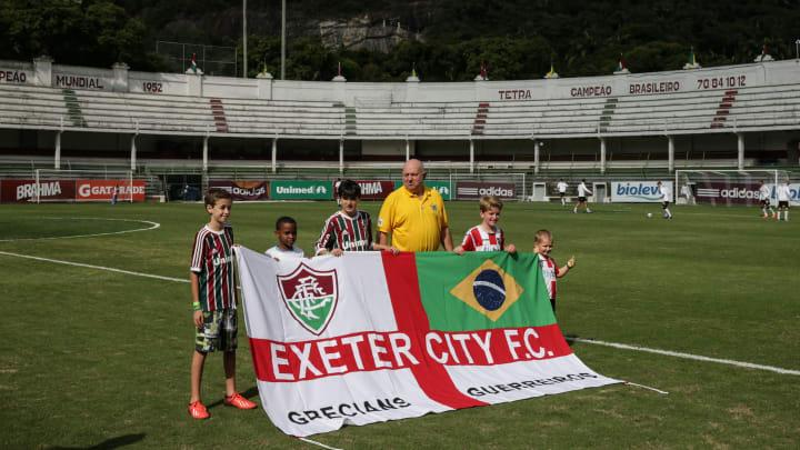 FBL-BRAZIL-ENGLAND-EXETER CITY-FLUMINENSE