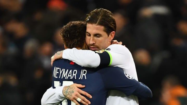 Sergio Ramos y Neymar serán compañeros de equipo la próxima temporada
