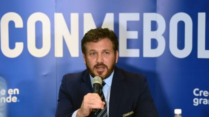 FBL-CONMEBOL-MEETING-DOMINGUEZ
