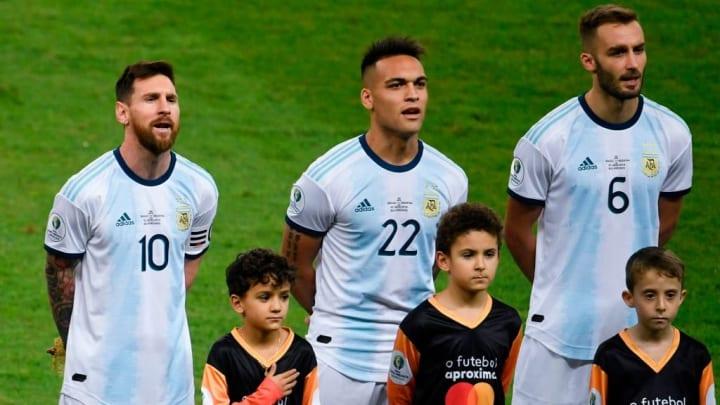 Messi Lautaro Argentina