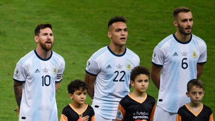 Lautaro Martinez admits he 'dreamed' of playing alongside Lionel Messi