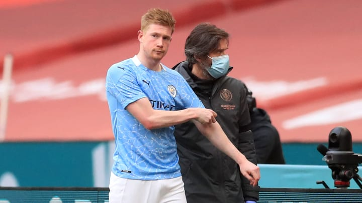 Kevin De Bruyne injury leaves Manchester City's trophy hunt hanging in the balance