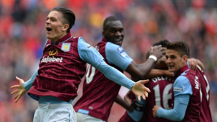 Grealish was crucial in Aston Villa's run to the 2015 FA Cup Final