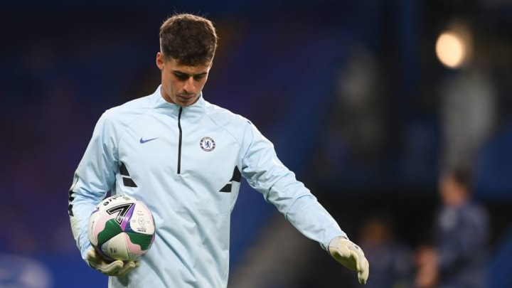 Kepa has been kept out in the cold since Mendy's arrival