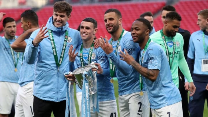 Manchester City Tottenham Copa da Liga Inglesa