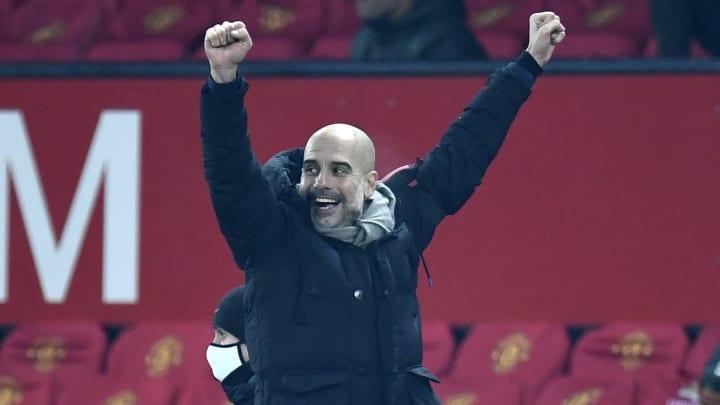 Bis 2023 Cheftrainer von Manchester City: Pep Guardiola
