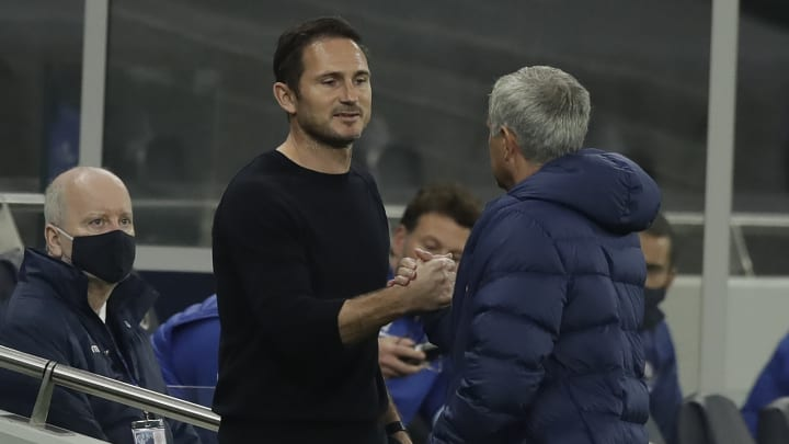 Jose Mourinho has spoken out about Frank Lampard being sacked by Chelsea