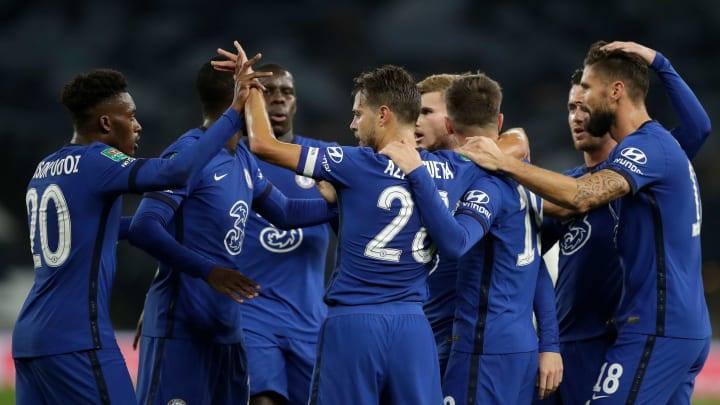 Timo Werner got off the mark for Chelsea against Tottenham