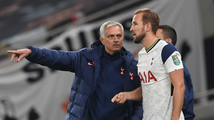Mourinho has raved about the Tottenham forward