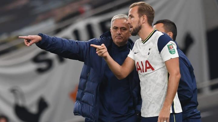 Kane has praised the impact of Mourinho