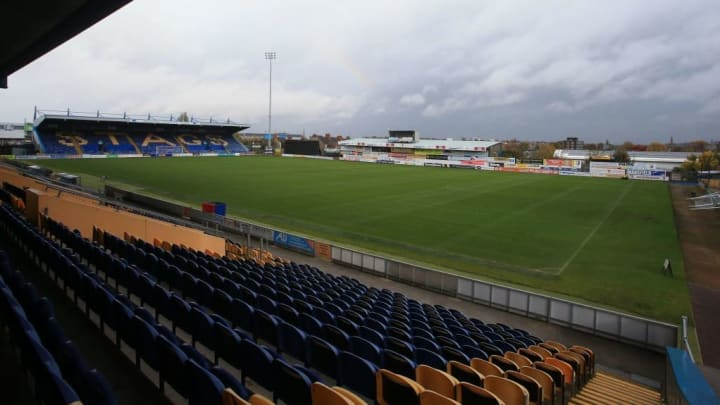 Field Mill Stadium is home to Mansfield Town