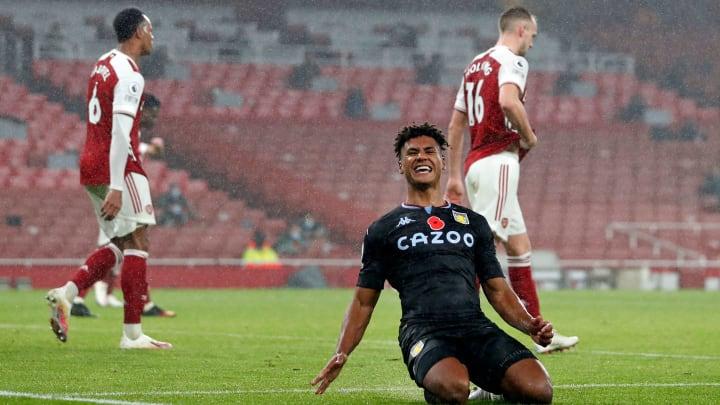 Watkins bagged a brace as Villa defeated Mikel Arteta's side 3-0