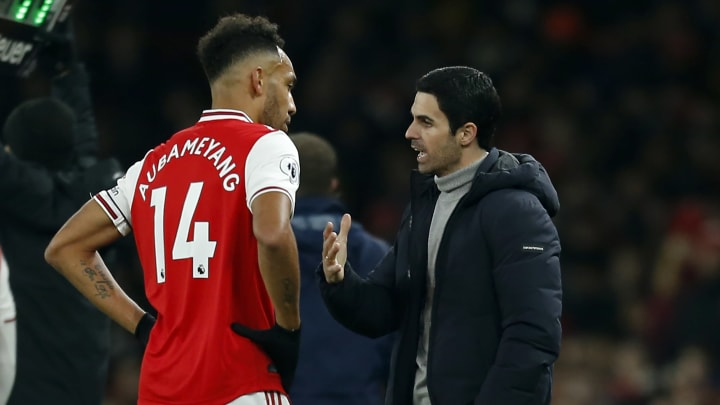 Arteta admitted Aubameyang was 'drained' - but the Arsenal squad have rallied around him