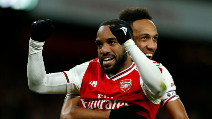 Lacazette and Aubameyang are in contention to face Villarreal
