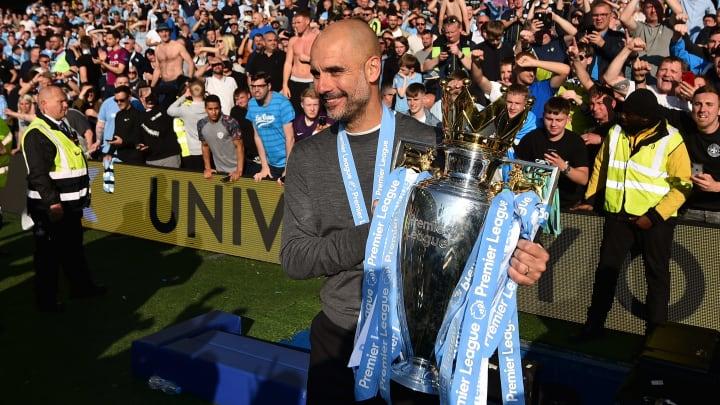 Pep Guardiola hat erneut die Premier League gewonnen