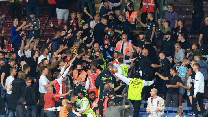 FA to investigate crowd trouble following Burnley vs Arsenal