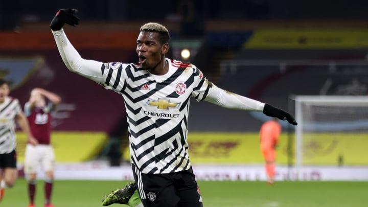 Paul Pogba a offert les trois points à Manchester United contre Burnley.