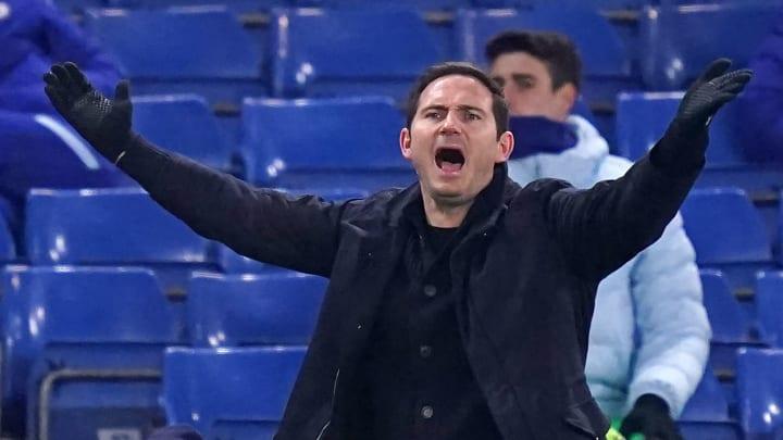 Frank Lampard konnte mit dem Ergebnis nicht zufrieden sein