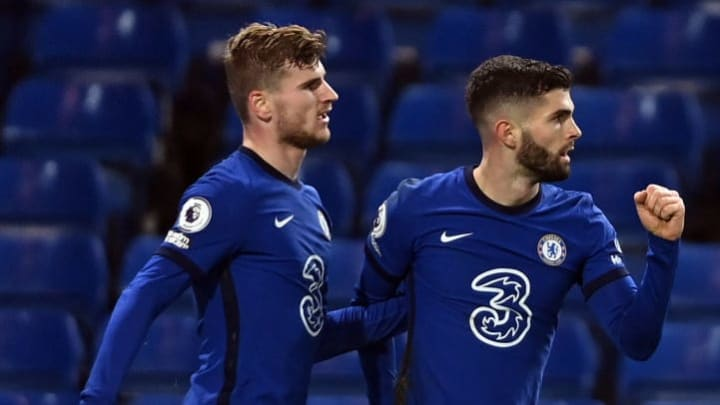 Werner and Pulisic have struggled for form under Lampard this season