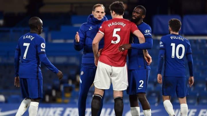 Chelsea et Man United n'ont pas trouvé le chemin des filets lors de ce choc
