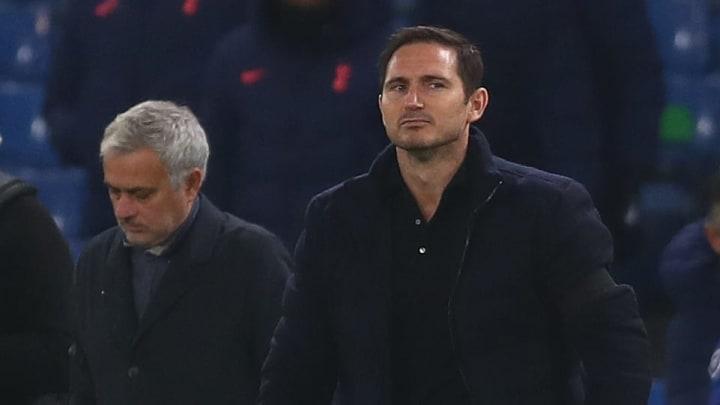 Lampard y Moruinho