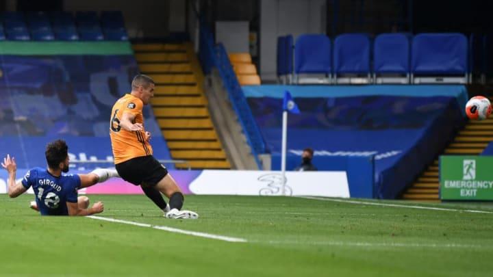 Giroud slides the ball home