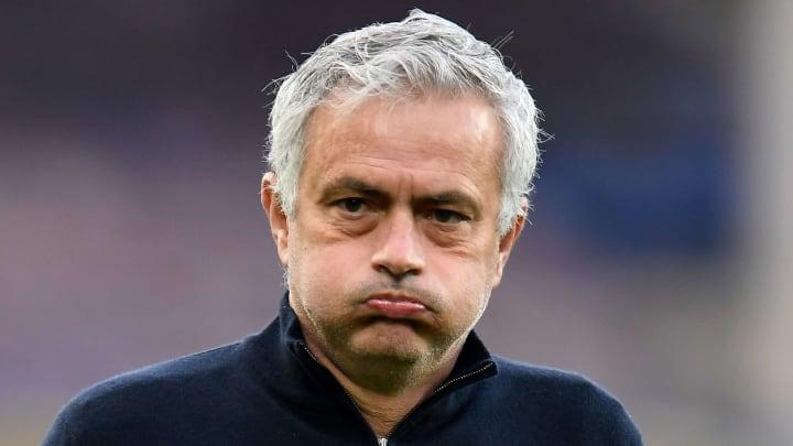 """José Mourinho, alias """"The Fired one""""."""
