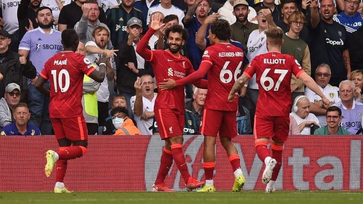 Salah has started the season magnificently