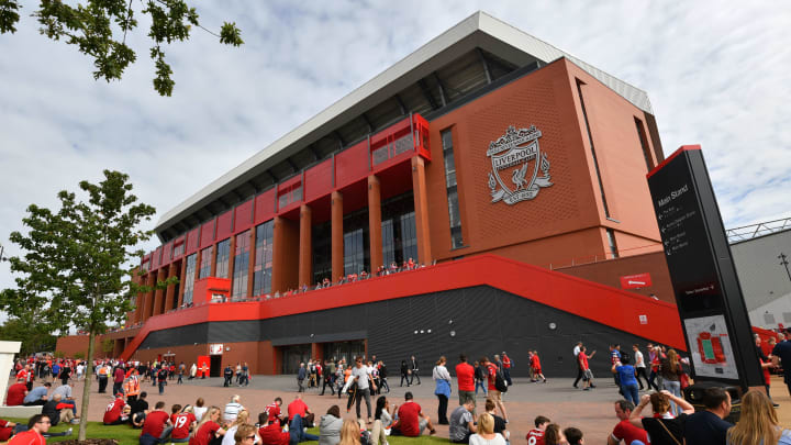 Liverpool have been redeveloping Anfield in the last few years
