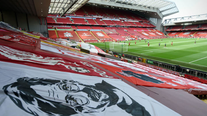 Liverpool fan group to remove all flags from Kop in protest against Super League