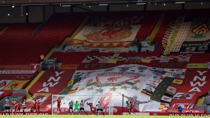The Kop could be graced with fans this season