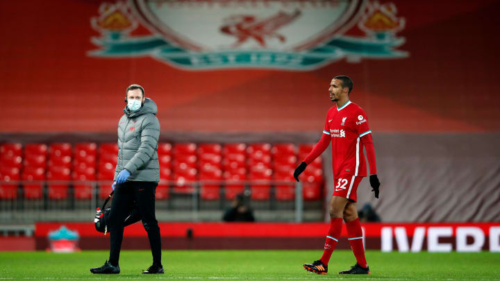 Joel Matip is 'running out of time' to be fit for Sunday
