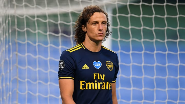 David Luiz looks set to extend his stay with Arsenal