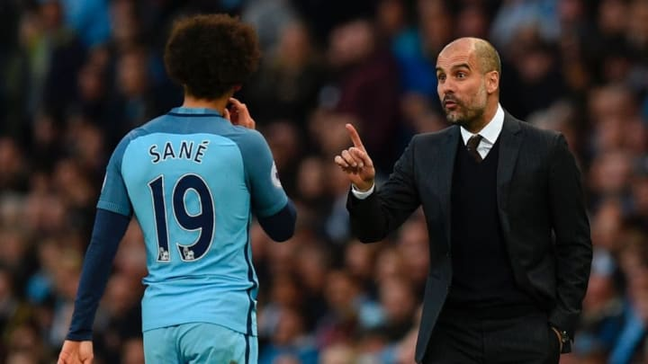 Zu Pep Guardiola hat Sané weiterhin ein gutes Verhältnis