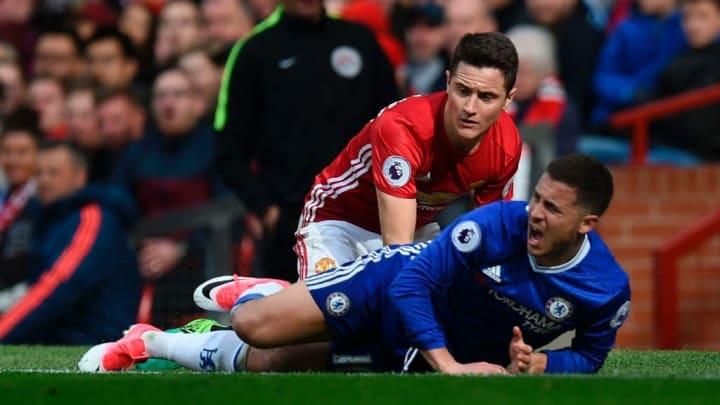 Herrera famously neutralised Eden Hazard