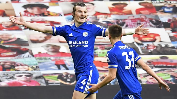 Caglar Soyuncu was the hero for Leicester