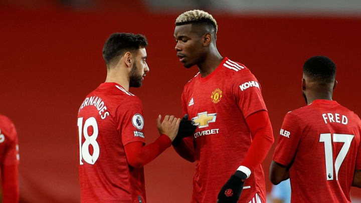 Bruno Fernandes & Paul Pogba are hoping to inspire Man Utd to victory