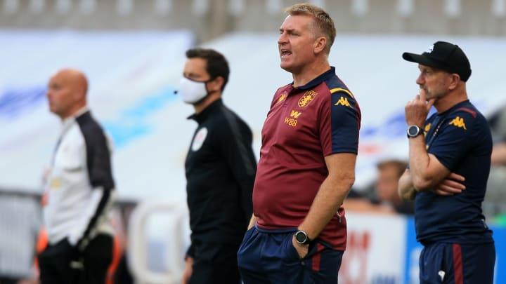 Dean Smith's Aston Villa are on a poor run of form.