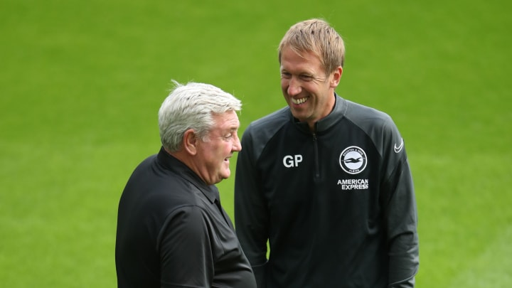 Steve Bruce's Newcastle and Graham Potter's Brighton are both in the mix