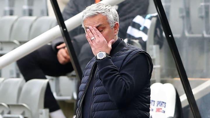 Mourinho will be in the spotlight when Man Utd travel to Tottenham