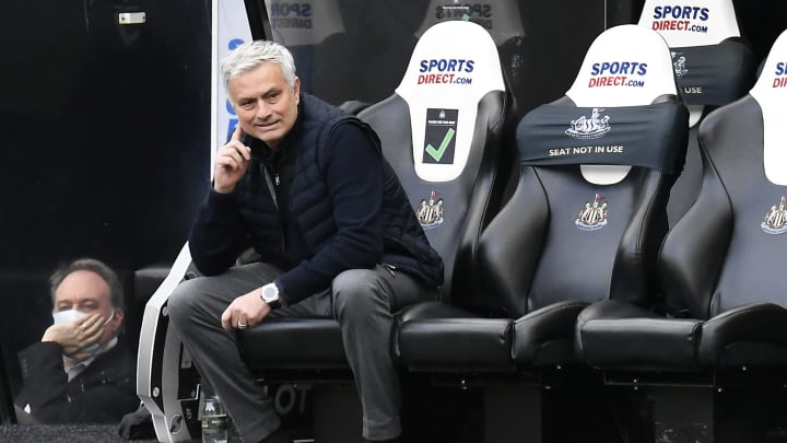 Mourinho was less than pleased with his side's draw with Newcastle